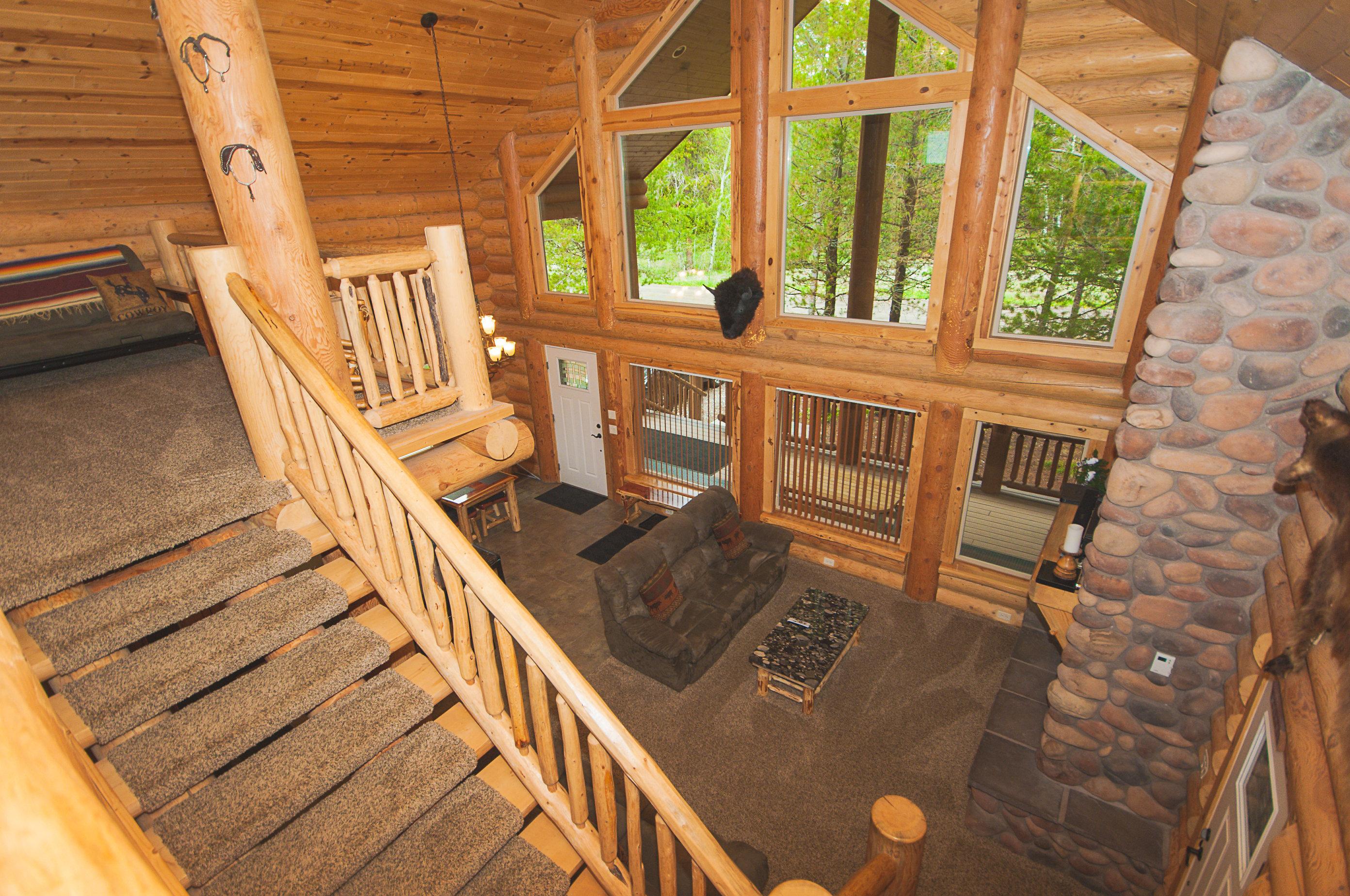 8. C25 Loft to Living Room